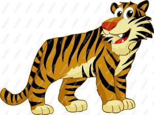 cartoonTiger