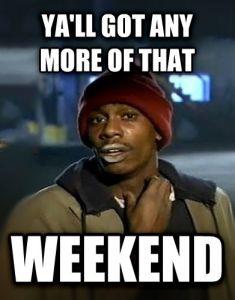 weekendMonday